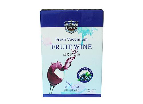 蓝莓鲜果酒