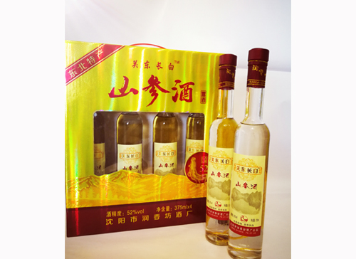 关东长白山参酒(礼盒)