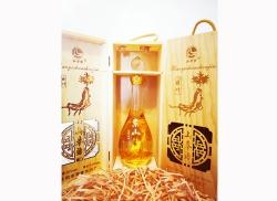 关东长白山参酒(水滴木盒)